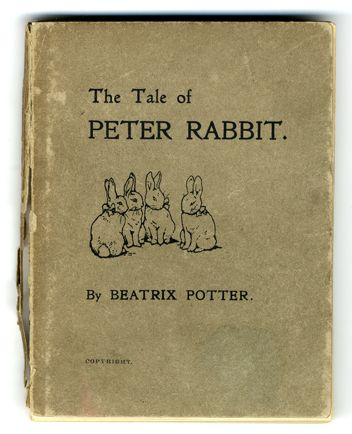 The Tale Of Peter Rabbit (First issue, 1901)  so many happy memories of my mom associated with this series. :)
