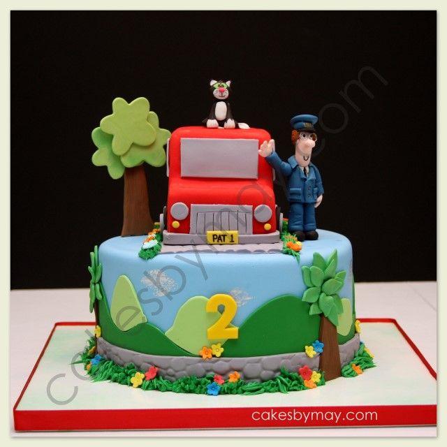 Cakes by Maylene: Postman Pat Birthday Cake