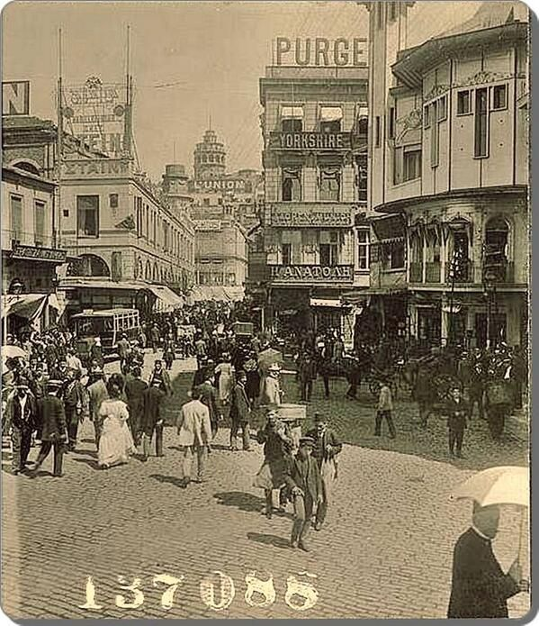 Karaköy, 1900'ler