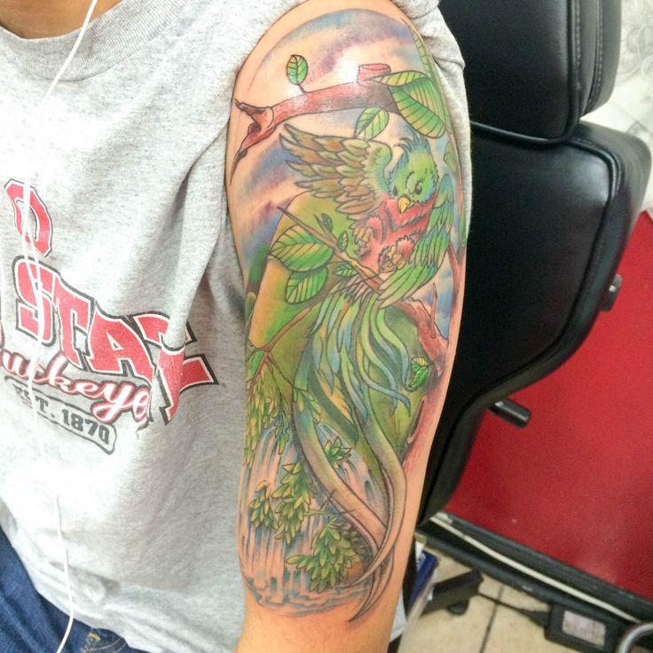 Quetzal Tattoo Rehab