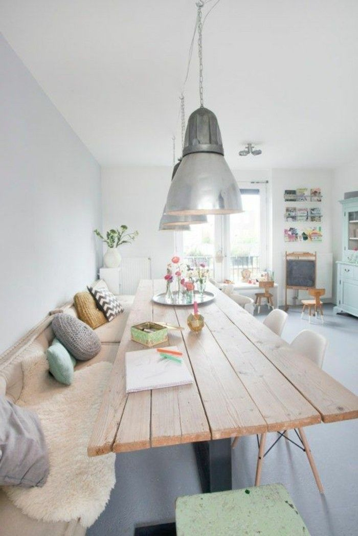 Beautiful decoration table salle a manger ideas design for Table a manger