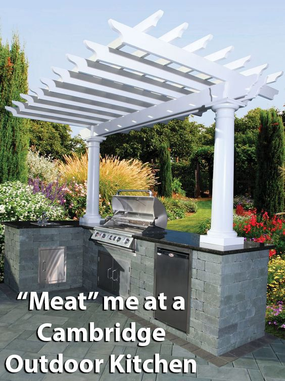 Imagine Cooking Up A Delicious Home Cooked Meal On Your Cambridge Outdoor  Kitchen! No More
