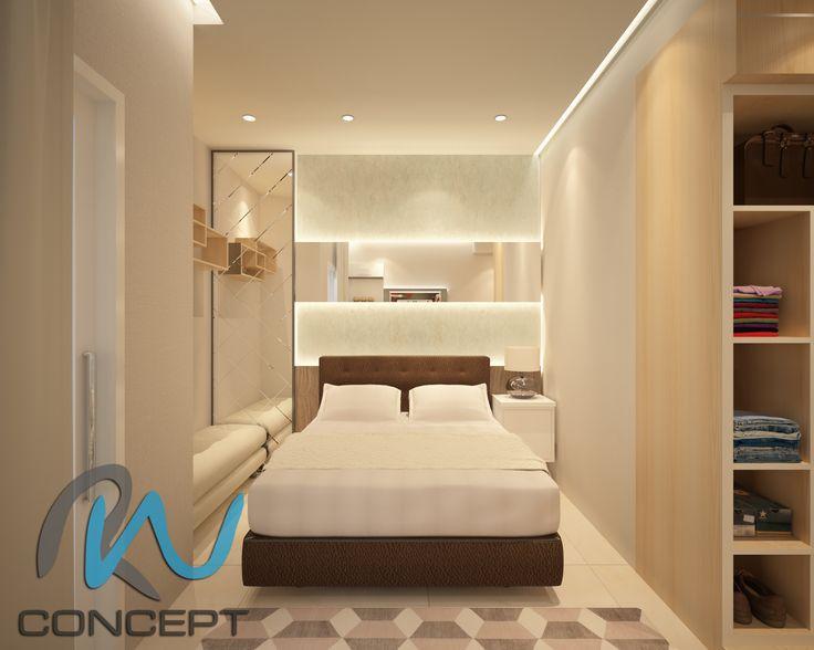 Apartment Taman Sari Jakarta Design 3D By Radyan Winata RW Concept