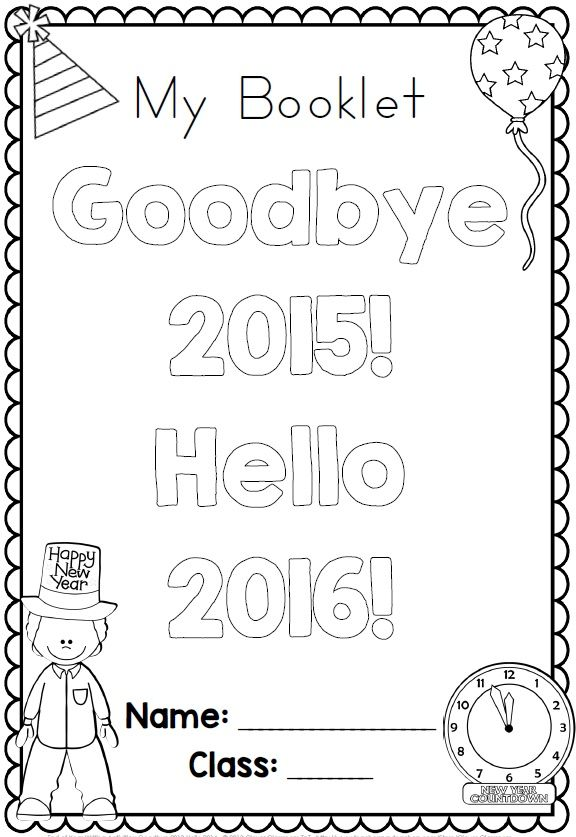 New Years writing