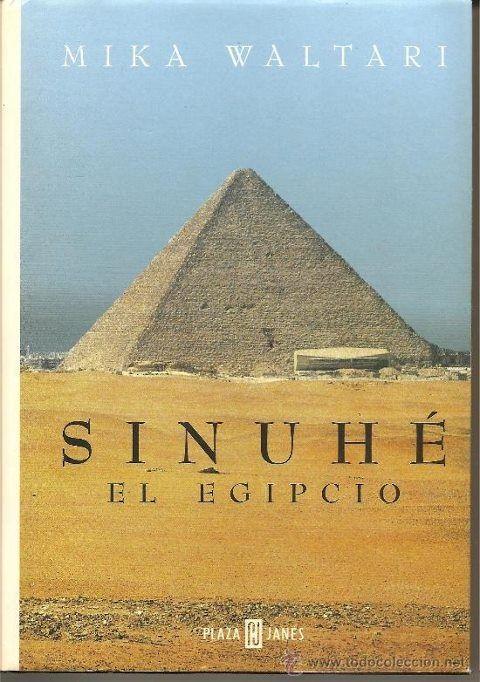 Sinuhé, el egipcio, de Mika Waltari http://www.quelibroleo.com/libros/sinuhe-el-egipcio 26-5-2012