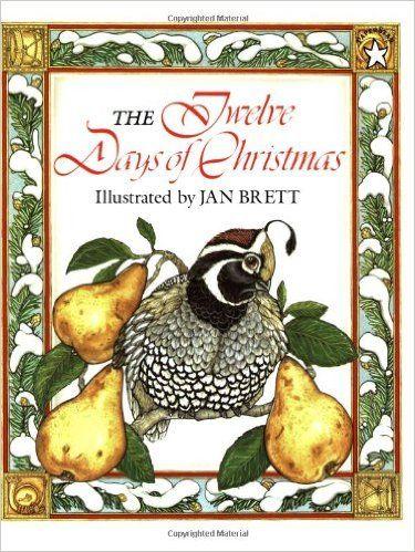 The Twelve Days of Christmas: Amazon.ca: Jan Brett: Books
