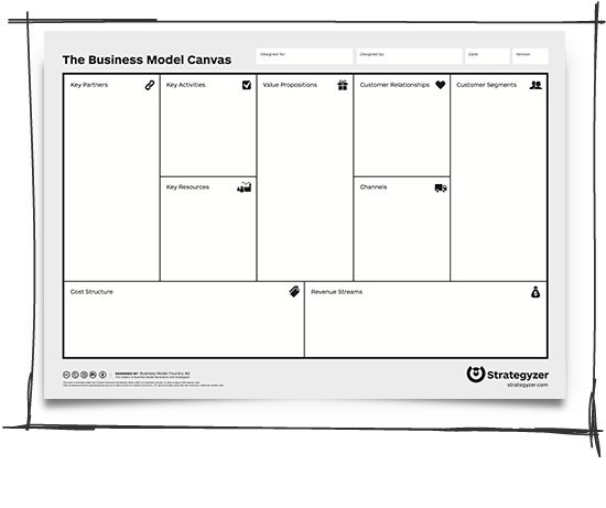 Media business plan template image 2