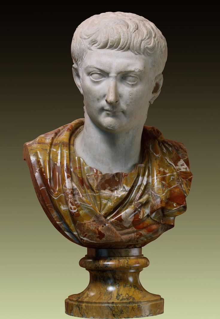 Portrait of the Emperor Tiberius