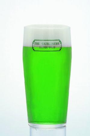 3月17日は緑色のビールで乾杯!アイリッシュパブ「THE DUBLINERS'」でSt.PATRICK'S DAYに樽詰ビールをワンコイン販売!!|サッポロホールディングス株式会社のプレスリリース