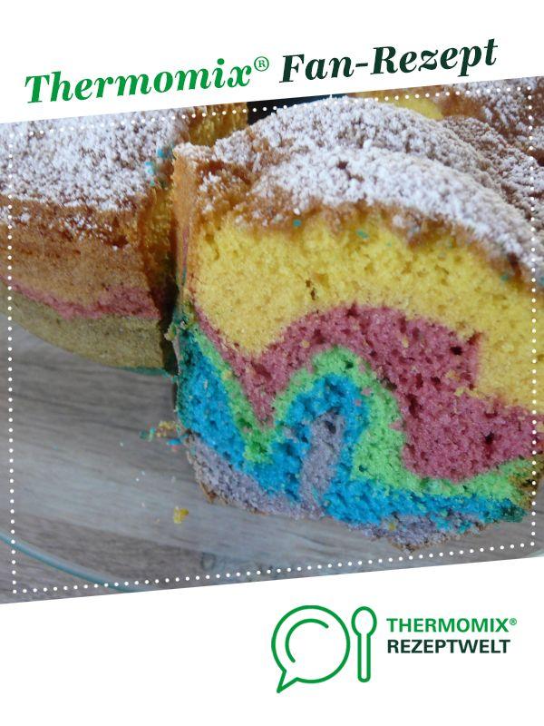 Regenbogenkuchen Rezept Backbuch Pinterest