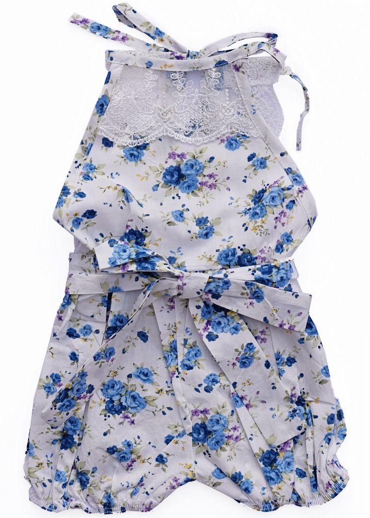 Vintage Lace Jumpsuit Romper - Blueberry Pie – Bailey's Blossoms