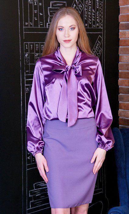 blusa de seda vintage