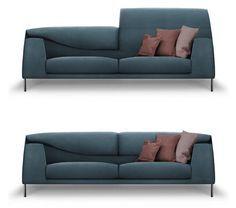 Vita Sofa by Mauro Lipparini for Bonaldo
