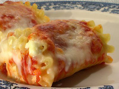 Lasagna Rolls with Bechamel Sauce The Simply Luxurious Life®: Classically Unique