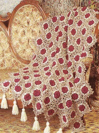 Antique MedallionsMedallions Afghans, Free Pattern, Crochet Afghans, Medallions Crochet, Free Crochet, Crochet Afghan Patterns, Antiques Medallions, Crochet Patterns, Afghans Pattern