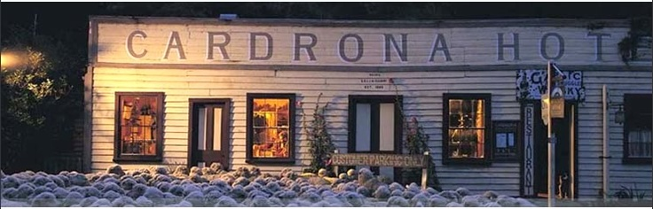Cardrona Hotel, Wanaka, New Zealand.