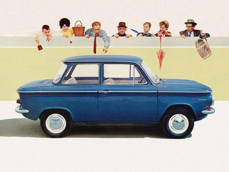 Prinz NSU auto epoca curiosando anni 60 e anni 70