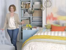 Create a relaxing bedroom retreat.