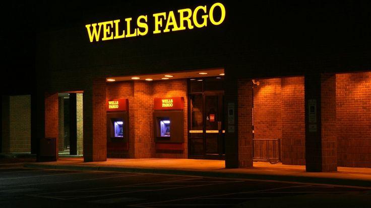 Brands, Wells Fargo, Wells Fargo Backgrounds, Wells Fargo Logo, Financial Brands, Wells Fargo Banking Building