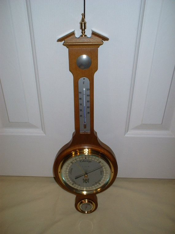 Focal Weather Instrument Barometer Thermometer