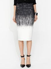 Scuba Sketchy Border Skirt