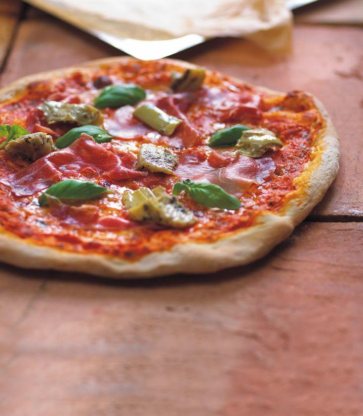 Efter mange års hårdt arbejde er det lykkedes at komme tæt på den optimale pizzaopskrift - se vinpusherens guide til pizza her