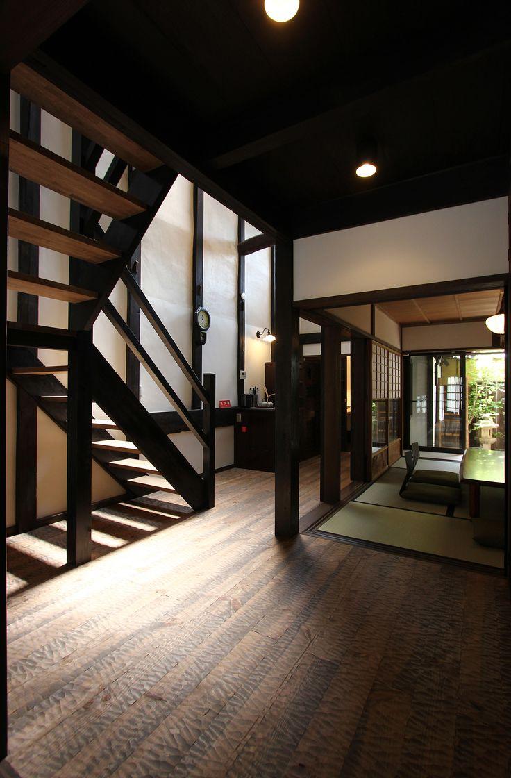 MACHIYA RESIDENCE INN KYOTO 京宿家 有済はとば庵 廊下と奥の間