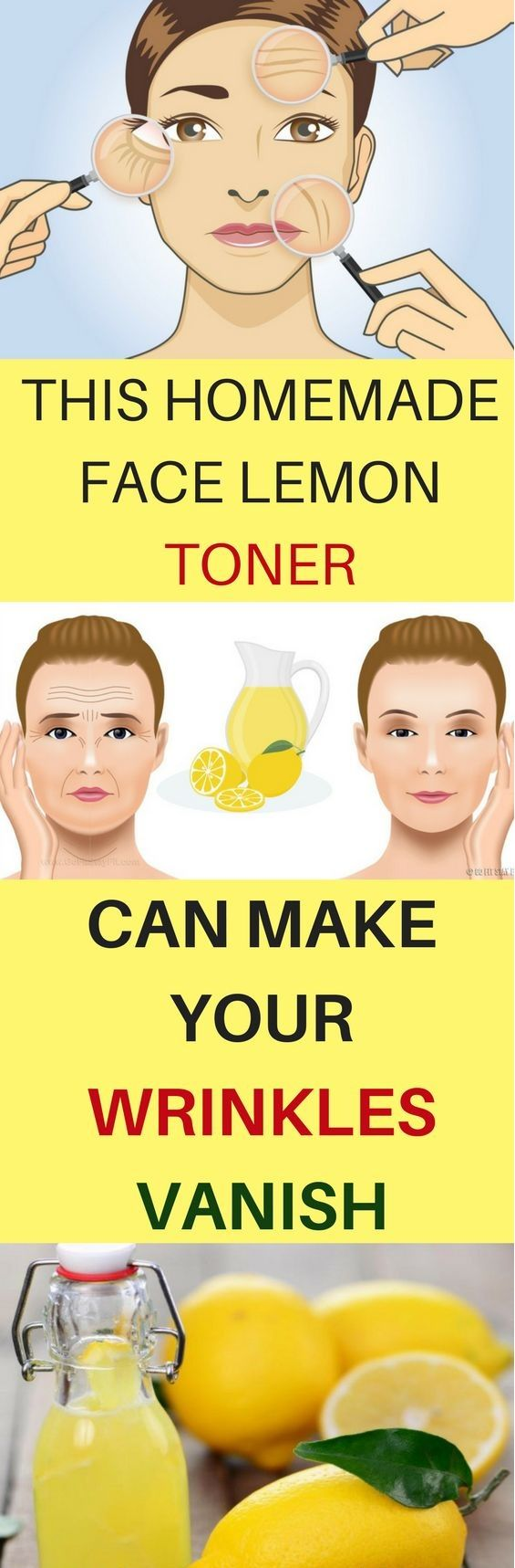 This Homemade Face Lemon Toner Can Make Your Wrinkles Vanish – Page 3 – We are introducing the Big Health Hut