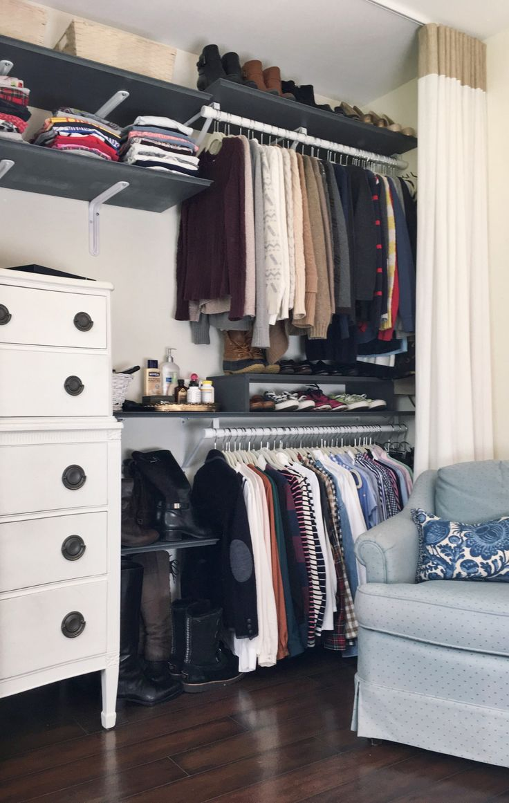 "lolo-berry: ""Nothing as satisfying as a freshly organized closet """