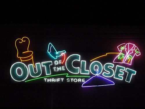 neon this thrift store is run in Fort Lauderdale, all proceeds goes to people with aids. good place.