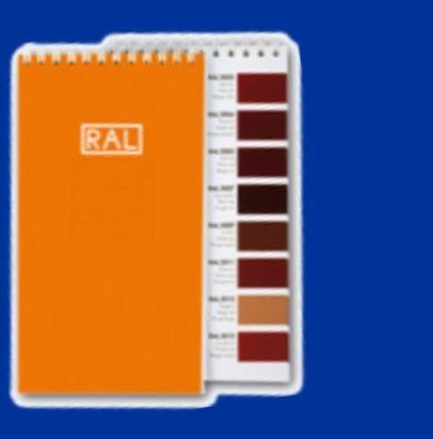 carte de couleur RAL   www.couleursRAL.com
