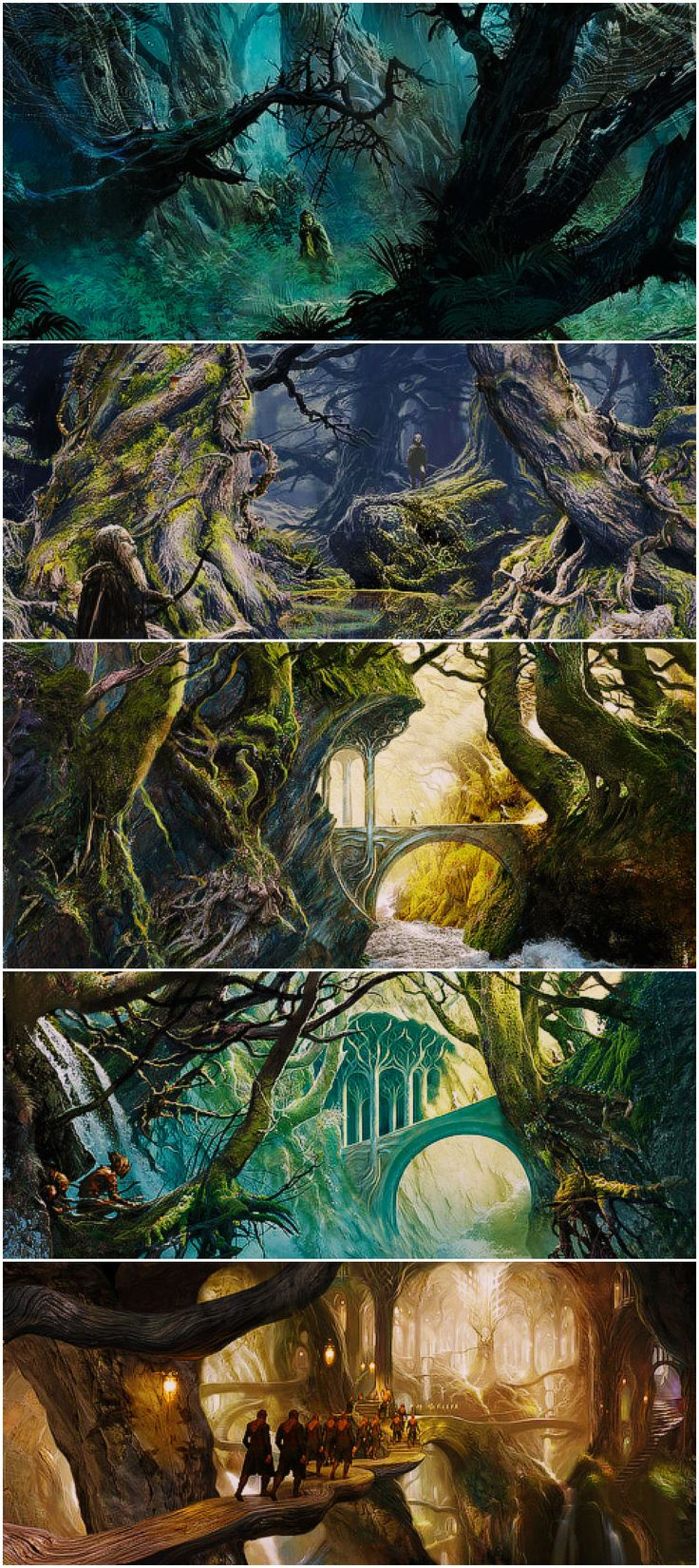 Lord of the Rings: Mirkwood Concept art