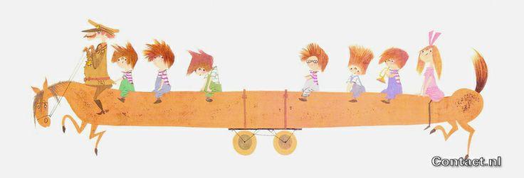 Deze grappige tekening van Pluk van de Petteflet met de Stampertjes op de kinderkamer van je zoon of dochter? www.mirandamaakthetmooi.nl