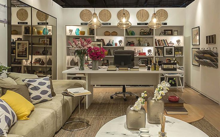 Bruno GAP Arquitetura   Decora Etna 2014 – Sala do Diretor de Design – São Paulo – Brasil