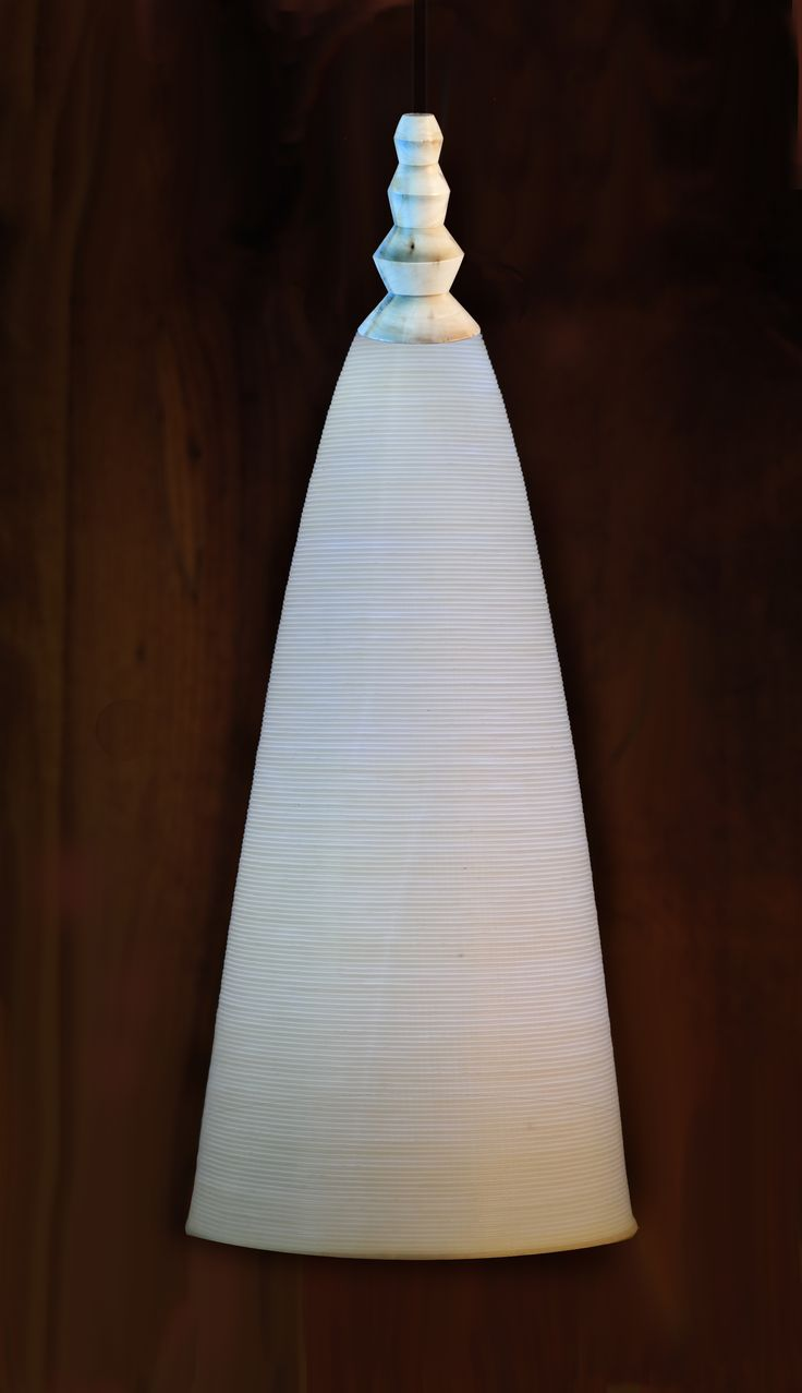 Thandi 3D pronted pedestal light fitting