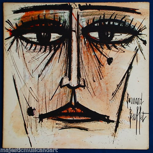 Bernard Buffet Original Art Cover Ella Fitzgerald Gershwin Album Very RARE | eBay