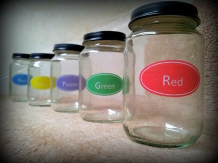 Use Parafin wax or white crayon to make waterproof labels