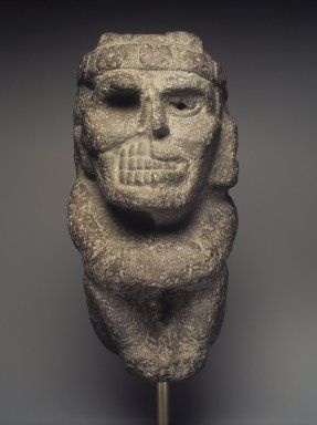 Mexica (Aztec) - Life Death Figure - Volcanic Stone - 1200-1521.