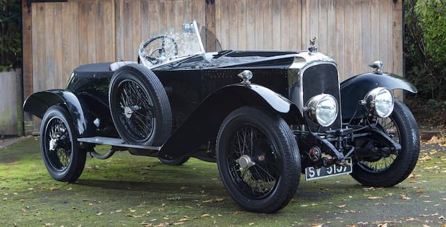 1924 Vauxhall 30-98 OE-Type Wensum Open Tourer Chassis no. OE162/OER11