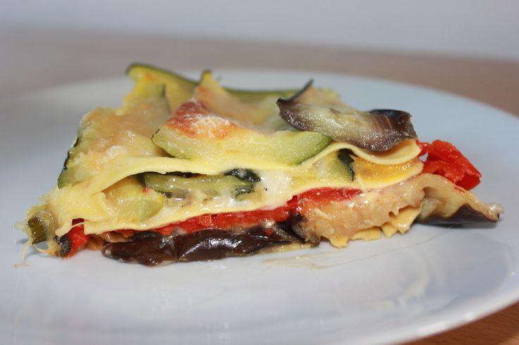 lasagnes fraîches courgettes aubergines parmesan