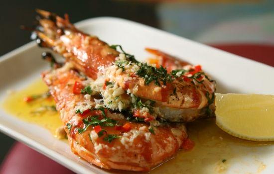 Gamberi all'aglio in salsa piccante - La ricetta di Buonissimo