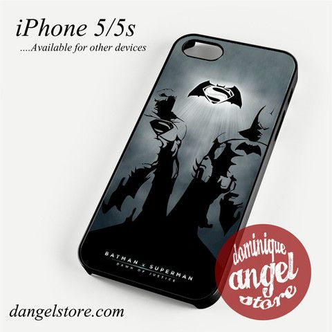 Batman V Superman Phone case for iPhone 4/4s/5/5c/5s/6/6 plus