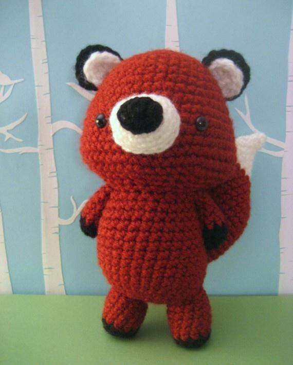 Amigurumi Triangle Ears : Fox Crochet Amigurumi Pattern. For real. Why do I not have ...