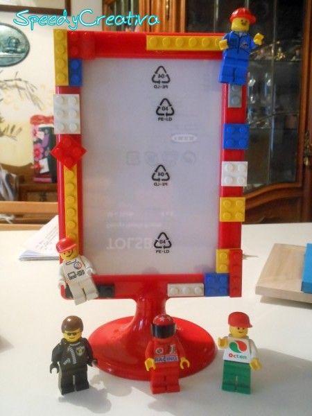 Speedy Creativa: Eco Craft Tour, la cornice con i Lego!