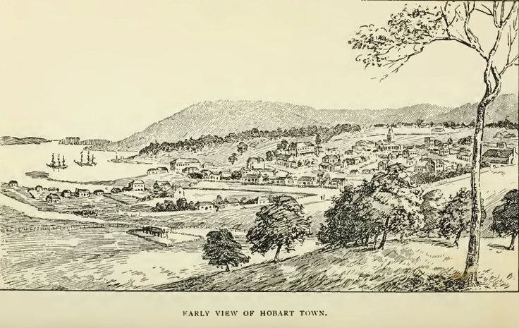 Early View of Hobart Town
