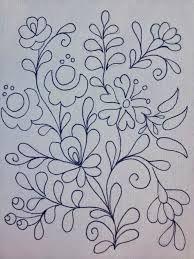 Resultado de imagen para patrones de bordado mexicano Más