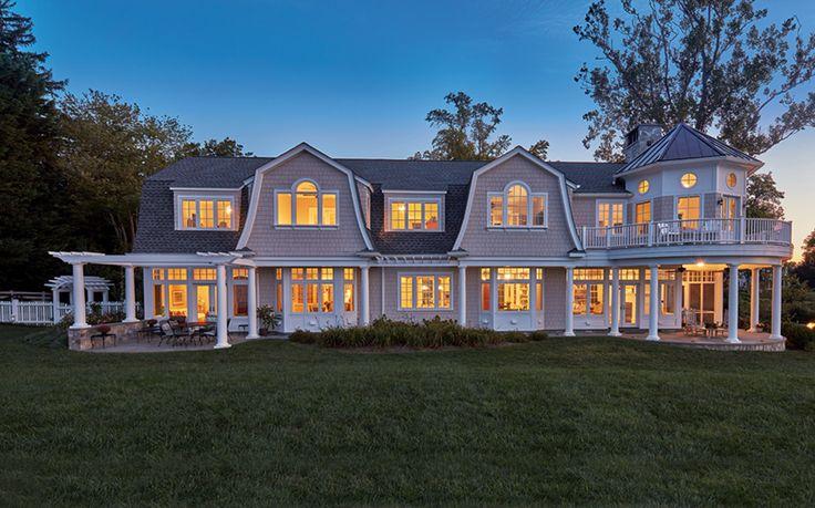 Дом у залива Уайтхолл в штате Мэриленд.