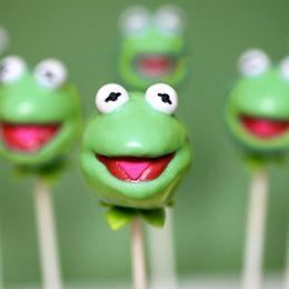 Kermit Cake Pop