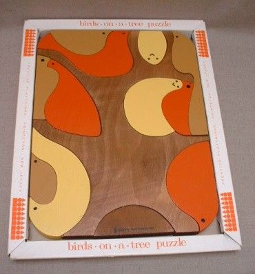 Birds-on-a-Tree puzzle from Creative Playthings