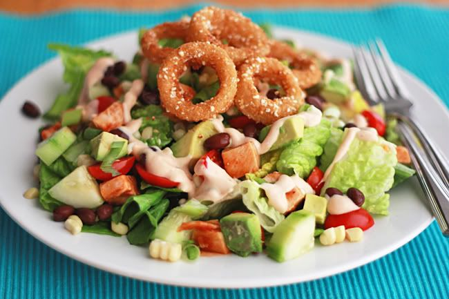 BBQ Ranch Chicken Salad | Food and Recipes | Pinterest